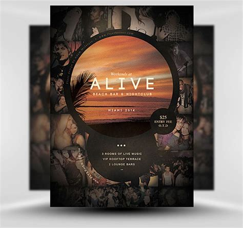 awesome  flyer templates design crawl