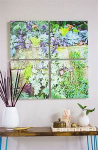 12 diy canvas photo art pieces you can make shelterness With photo wall art