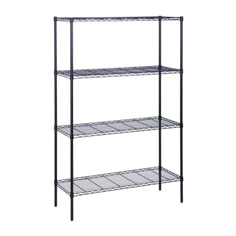 home depot shelfs edsal 72 in h x 48 in w x 24 in d 5 shelf steel