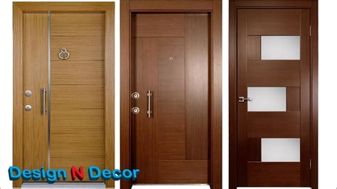Top 20 Modern Wooden Door Designs For Home 2018  Design N
