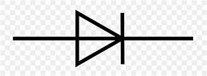 Electronic Symbol Zener Diode Light