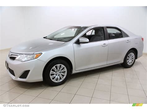 2012 Toyota Camry Le by Classic Silver Metallic 2012 Toyota Camry Le Exterior