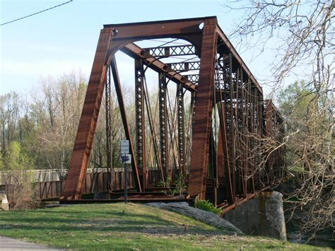 Bridgehunter.com | PRR - West Fork White River Bridge