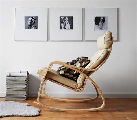 poltrone a dondolo in legno abbinare divano e poltrona foto 15 40 design mag