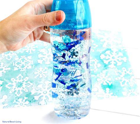 winter sensory bottle that living 273 | Winter Sensory Bottle 6 sq