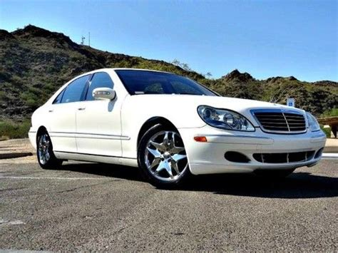 Sell Used No Reserve 03 Mercedes Benz S550 50l 70k Miles