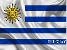National Flag Of Uruguay 123Countriescom