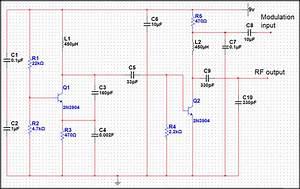 Basic Low Power Am Transmitter