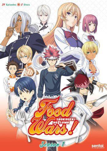 food wars shokugeki  souma anime planet