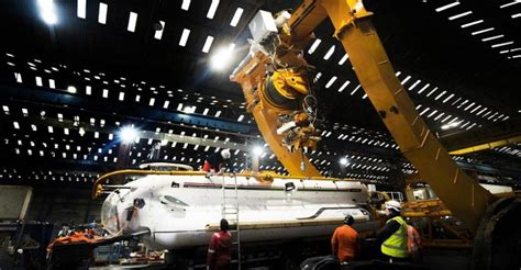 Indian Navy Inducts Submarine Rescue System With Dsrv