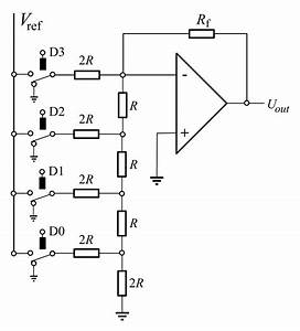 Digital To Analog Converter Circuit Diagram