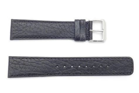 coach watch repair form kenneth cole 20mm genuine black textured leather square
