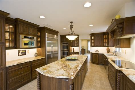 granite kitchen countertops improving kitchen