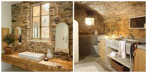salle de bain pierre  bois une beaute naturelle