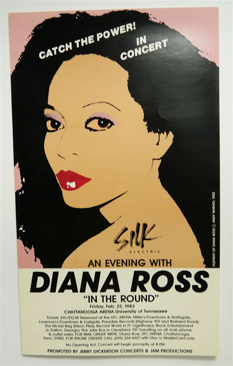 concert posters  display  special collections utc