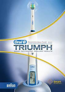 Braun Electric Toothbrush Triumph User Guide