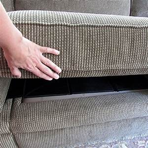 Evelots cushion support furniture fixer repair lift for Sagging sofa bed cushion support