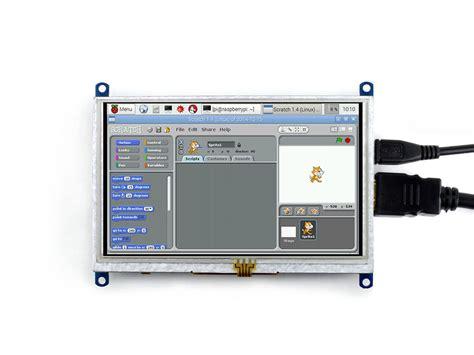 mini hdmi display raspberry pi waveshare display 5inch hdmi lcd b