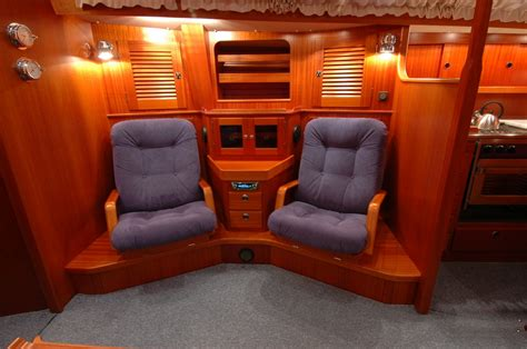 Boat Salon Definition by Captains Chairs In My Yacht Saloon