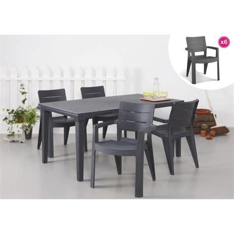 chaise de jardin allibert stunning salon de jardin allibert york gris anthracite