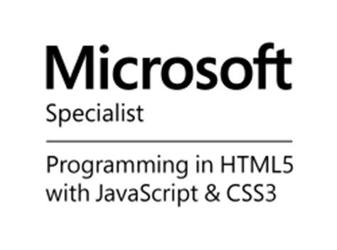 Sitecore Certified Developer Resume by Become A Microsoft Certified Specialist With Html5 Js Css3 Microsoft