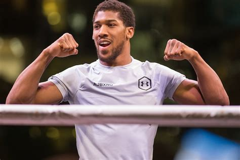 Anthony Joshua: I Want To Steamroll Through Pulev, Fight ...