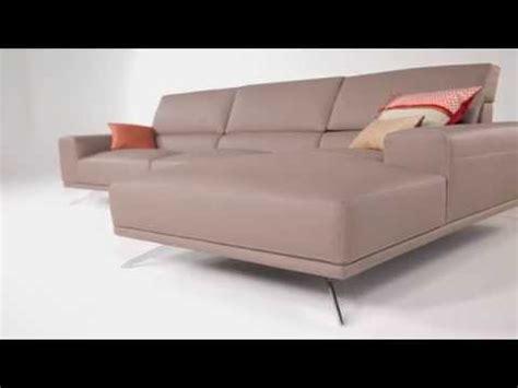 canapé cuir blanc roche bobois composition d angle présence en cuir design sacha lakic