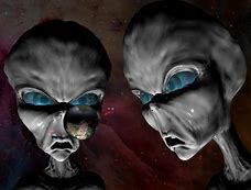 Image result for little gray aliens pretending to be our friends