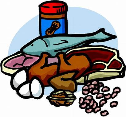 Meat Clipart Lean Fish Beans Foods Eggs