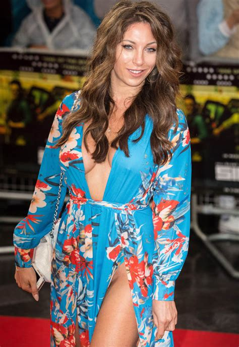 Aoife Francesca Suffers Near Crotch Flash At Premiere With