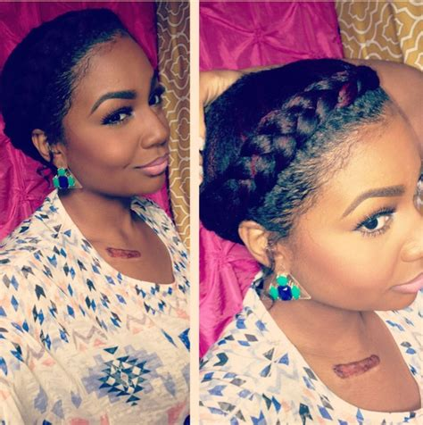 hot holiday   years eve natural hair styles