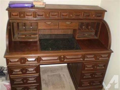 used roll top desk for sale teak roll top desk for sale in tulsa oklahoma classified