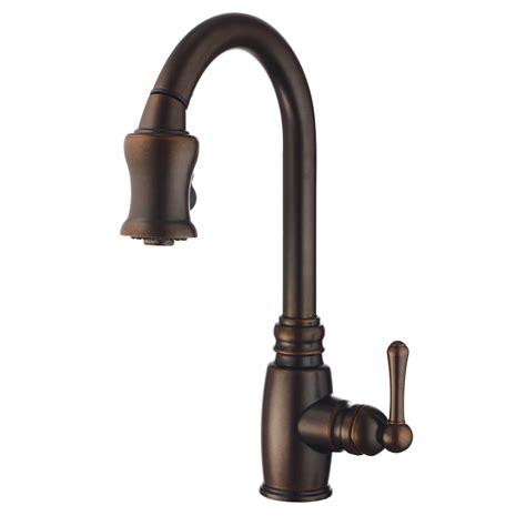 bronze kitchen faucets shop danze opulence tumbled bronze 1 handle pull