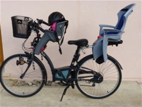 siege velo avant siege enfant avant velo le vélo en image