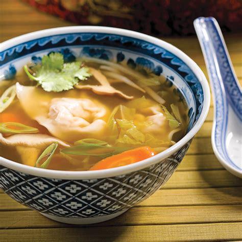 gingembre cuisine soupe wonton porc et gingembre recettes cuisine et