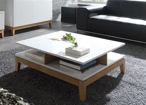 40 Best Collection Of White Wood And Glass Coffee Tables