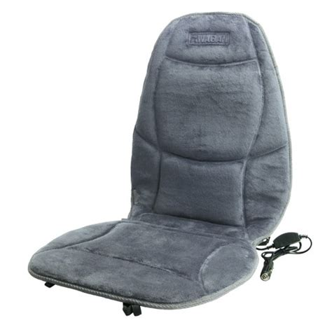 Heated Pads For Chairs by Wagan Velour Heated Seat Cushion