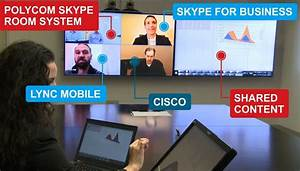 Room Video Solutions for Skype for Business from Polycom