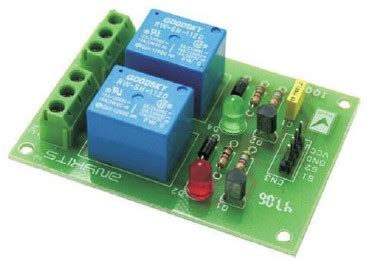 Dual Relay Driver Board Electronics Lab