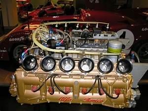 Alfa Romeo F1 Engine  Flat