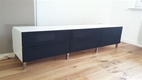 tv meubel inside design another great looking hifi rack built from ikea lack side
