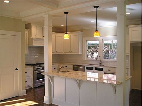 Kitchens With Columns - Home Design
