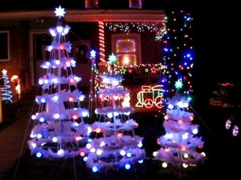 gemmy christmas light show part one youtube