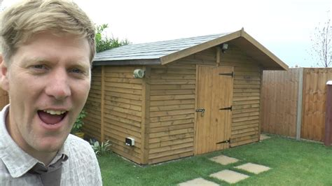 build   solid shed youtube