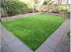 Outdoor Stackable Stone With Synthetic Lawns And Stone