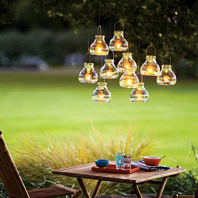 17 outdoor lighting ideas for the garden scattered