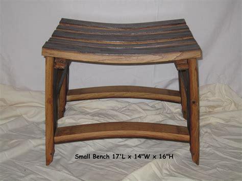 Sitzbank Klein by Small Bench Stave Designsstave Designs