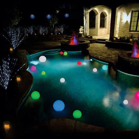 light up orbs for pool floating orbs more lighting ideas pool ideas pinterest