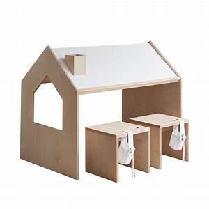 Kinder Tisch Mit Stühlen : kutikai kindertisch roof online kaufen kidswoodlove ~ Bigdaddyawards.com Haus und Dekorationen