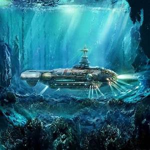 Steampunk Submarine by FantasyArtDesigns | Beautiful ...